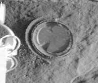 El 'Spirit' hace su primer agujero en una roca de Marte