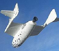SpaceShipOne vuelve al espacio