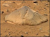 Visitante marciano estudia a Adirondack