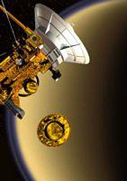 Huygens entrará en la atmósfera de Titán este viernes -14/01/2005-
